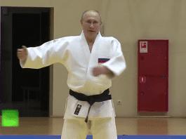 Путин се контузи по време на тренировка по джудо