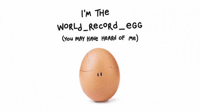 Яйцето рекордьор в Instagram се пукна – каква е причината?