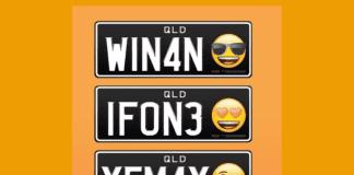 Емоджита на регистрационните номера на колите?