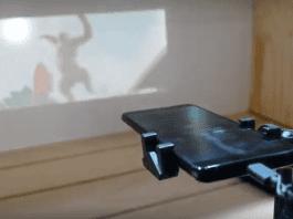 Представиха смартфон с вграден проектор