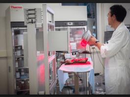 Първият мобилен 3D принтер на кожа