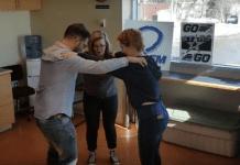 Triangle dance – още едно танцово предизвикателство