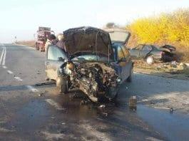 Пиян шофьор без книжка предизвика катастрофа