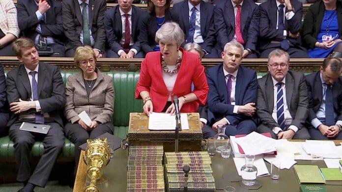 Британският парламент за втори път отхвърли споразумението за Брекзит