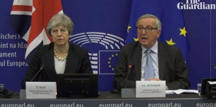 """""""правнообвързваща"""" промяна в сделката за Брекзит"""