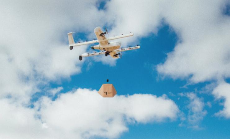 Разрешиха доставки с дрон в Австралия