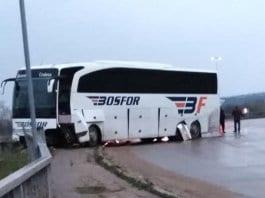Турски автобус едва не повтори трагедията