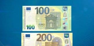 Нови банкноти от 100 и 200 евро