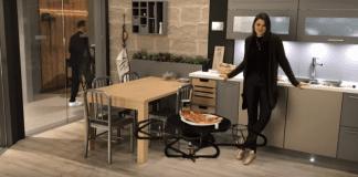Летящ поднос помага в кухнята на умния дом