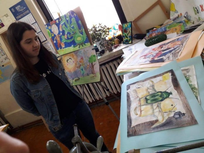 Неоценена в България рисунка
