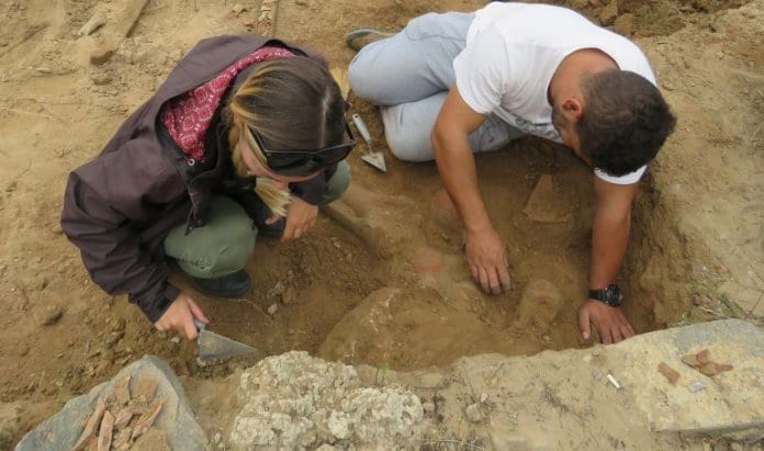 издирване на археологически обекти