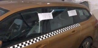 Таксиметров автомобил