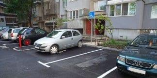 Нов паркинг приютява 71 автомобила