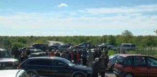 Жители на Тетово блокираха пътя Русе - Кубрат