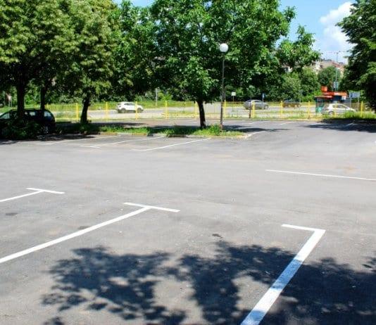 Първият буферен паркинг в Русе