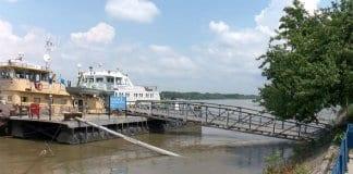 първа степен на опасност от заливане на Дунав
