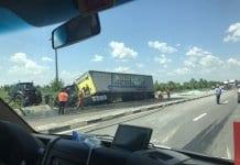 затвори пътя Русе – Букурещ
