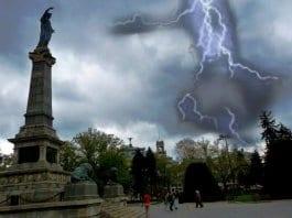 Жълт код за очаквани гръмотевични бури