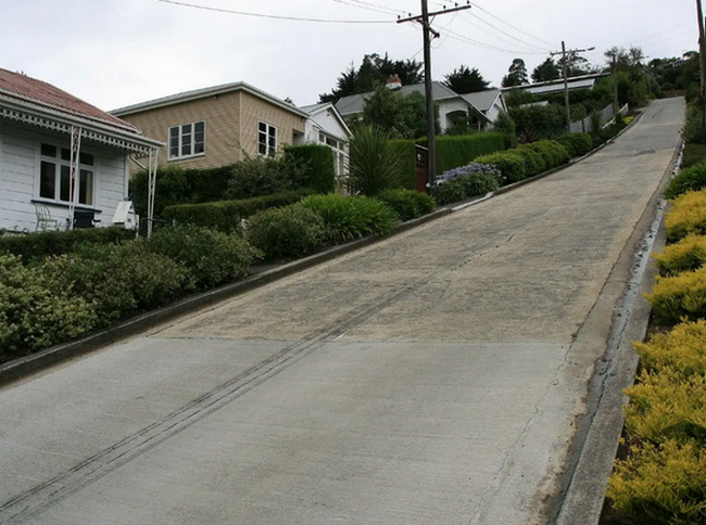 Най-стръмната улица в света е…