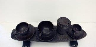 Компания произвежда чаши за кафе от утайката му