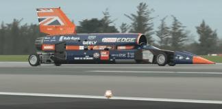 Свръхзвуков автомобил ще подобрява настоящия рекорд за скорост от 1,228 км/ч