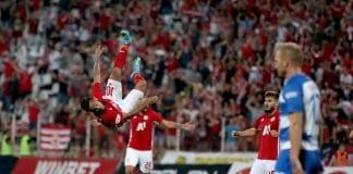 """""""Левски"""" е пред отпадане от Лига Европа"""
