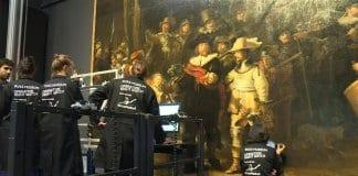 """След 40 години започна реставрацията на """"Нощна стража"""" от Рембранд"""