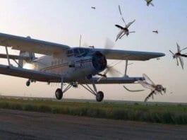 Авиационното пръскане срещу комари