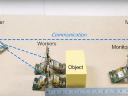 Роботизирани мравки работят с колективен ум