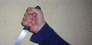 48 годишен мъж намушка съпрузи с нож