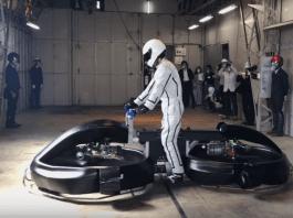 Японска компания създаде летящ мотоциклет