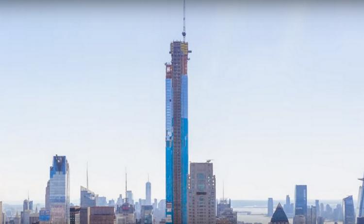 Къде се намира най-високата жилищна сграда в света?