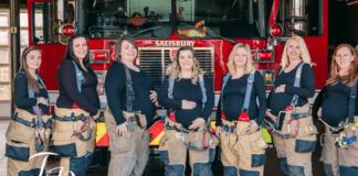 Жените на група пожарникари родиха едновременно
