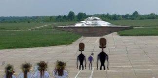 Фалшива новина за пристигане на извънземни