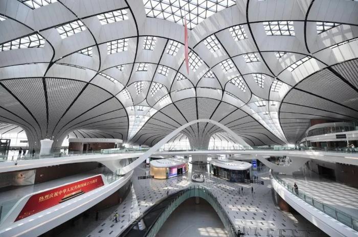 Най-новото летище в Китай е ултрамодерно