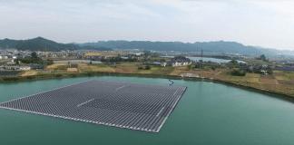 В Германия заработи първата плаваща слънчева електроцентрала
