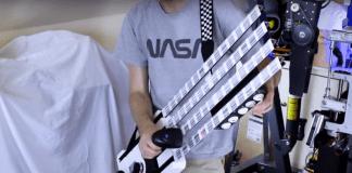 Британски изобретател създаде китара с щрихкодове