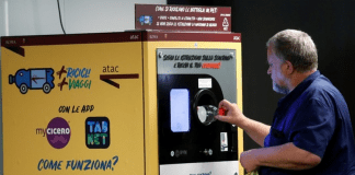 В Рим: безплатен билет за метро = 30 пластмасови бутилки