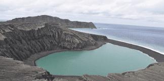 Вулканично изригване създаде нов остров в архипелага Тонга