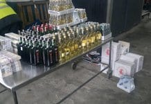 Близо половин тон недеклариран алкохол