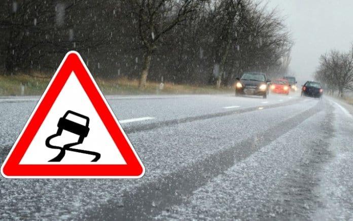 Предупреждение за очаквани заледявания по пътищата